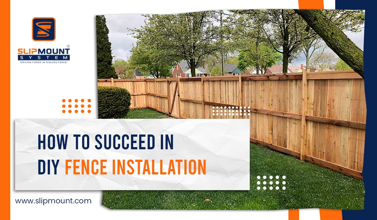 How to Succeed in DIY Fence Installation